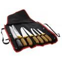 Sac de 7 Couteaux Boucher et Fusil