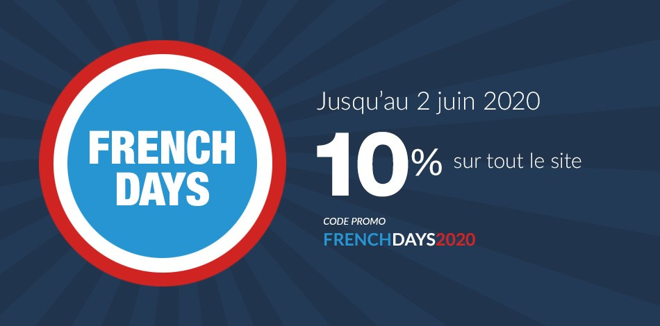 Offre French days 10 %